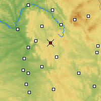 Nearby Forecast Locations - Pottenstein - Χάρτης