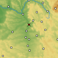 Nearby Forecast Locations - Forchheim - Χάρτης