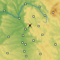 Nearby Forecast Locations - Ebermannstadt - Χάρτης