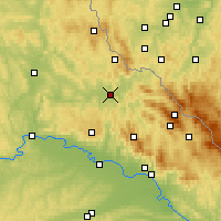 Nearby Forecast Locations - Cham - Χάρτης