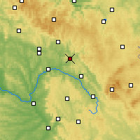 Nearby Forecast Locations - Kronach - Χάρτης