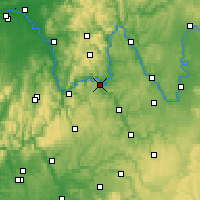 Nearby Forecast Locations - Wertheim - Χάρτης