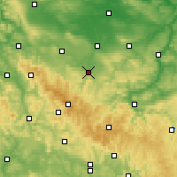 Nearby Forecast Locations - Arnstadt - Χάρτης