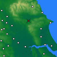 Nearby Forecast Locations - Malton - Χάρτης