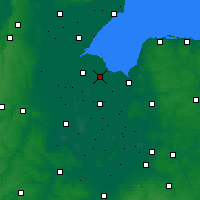 Nearby Forecast Locations - Spalding - Χάρτης