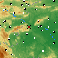 Nearby Forecast Locations - Samobor - Χάρτης