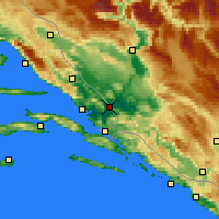 Nearby Forecast Locations - Metković - Χάρτης