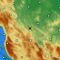 Nearby Forecast Locations - Slunj - ������