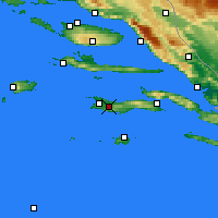 Nearby Forecast Locations - Blato - Χάρτης