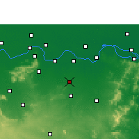 Nearby Forecast Locations - Amarpur - Χάρτης