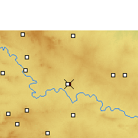Nearby Forecast Locations - Athani - Χάρτης