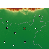 Nearby Forecast Locations - Bahadurganj - Χάρτης