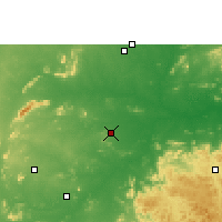 Nearby Forecast Locations - Balangir - Χάρτης