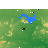 Nearby Forecast Locations - Bargarh - Χάρτης