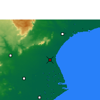 Nearby Forecast Locations - Basudebpur - Χάρτης
