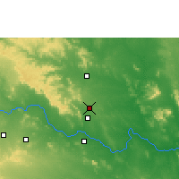 Nearby Forecast Locations - Bellampalle - Χάρτης