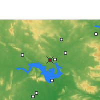 Nearby Forecast Locations - Belpahar - Χάρτης