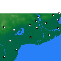 Nearby Forecast Locations - Bhimavaram - Χάρτης
