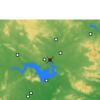 Nearby Forecast Locations - Brajarajnagar - Χάρτης