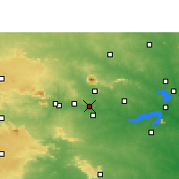 Nearby Forecast Locations - Chandrapura - Χάρτης