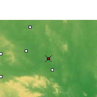 Nearby Forecast Locations - Chandrapur - Χάρτης
