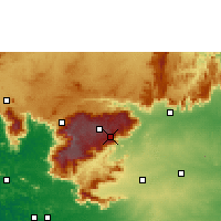 Nearby Forecast Locations - Coonoor - Χάρτης