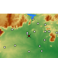 Nearby Forecast Locations - Erode - Χάρτης