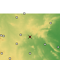 Nearby Forecast Locations - Gooty - Χάρτης