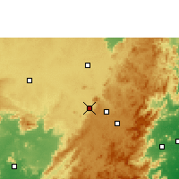 Nearby Forecast Locations - Jeypore - Χάρτης