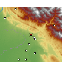 Nearby Forecast Locations - Kathua - Χάρτης