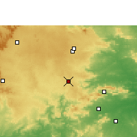 Nearby Forecast Locations - Khunti - Χάρτης