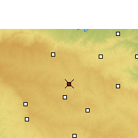 Nearby Forecast Locations - Latur - Χάρτης