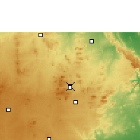 Nearby Forecast Locations - Madanapalle - Χάρτης