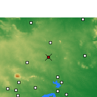 Nearby Forecast Locations - Madhupur - Χάρτης