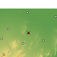 Nearby Forecast Locations - Mahendragarh - Χάρτης