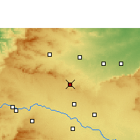 Nearby Forecast Locations - Manmad - Χάρτης