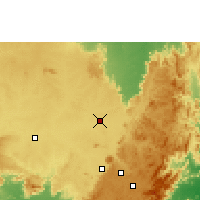 Nearby Forecast Locations - Nabarangpur - Χάρτης