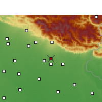 Nearby Forecast Locations - Nagla - Χάρτης