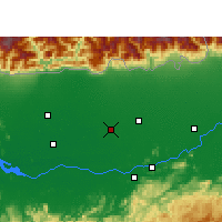 Nearby Forecast Locations - Nalbari - Χάρτης