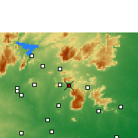 Nearby Forecast Locations - Namagiripettai - Χάρτης