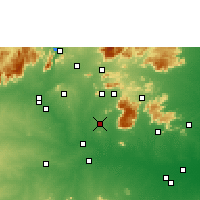 Nearby Forecast Locations - Namakkal - Χάρτης