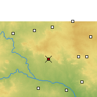 Nearby Forecast Locations - Narayanpet - Χάρτης