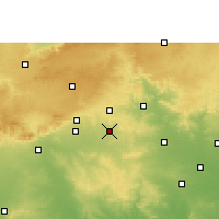 Nearby Forecast Locations - Narkhed - Χάρτης