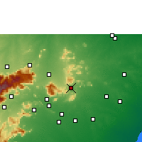 Nearby Forecast Locations - Natham - Χάρτης