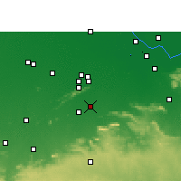 Nearby Forecast Locations - Nawada - Χάρτης