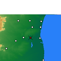Nearby Forecast Locations - Neyveli - Χάρτης