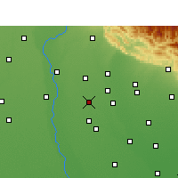 Nearby Forecast Locations - Noorpur - Χάρτης