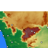 Nearby Forecast Locations - O' Valley - Χάρτης
