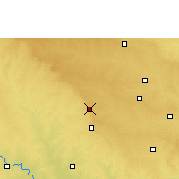 Nearby Forecast Locations - Osmanabad - Χάρτης