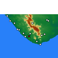 Nearby Forecast Locations - Pacode - Χάρτης